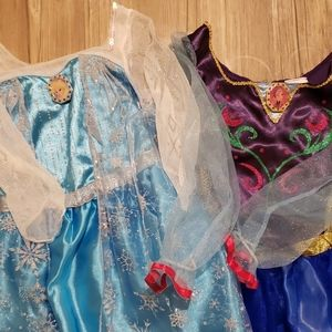 Disney Elsa and Anna Costumes